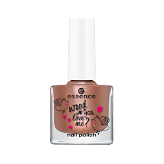 Лак для ногтей essence wood you love me? nail polish 01 (Цвет 01 crazy in love variant_hex_name ab7767) лак для ногтей essence wood you love me nail polish 02 цвет 02 soulmate variant hex name cbcd93