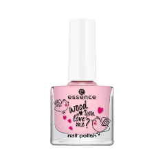 Лак для ногтей essence wood you love me? nail polish 03 (Цвет 03 sweet kisses variant_hex_name e0aebf) лак для ногтей essence wood you love me nail polish 01 цвет 01 crazy in love variant hex name ab7767