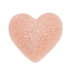 Спонж конняку Beauty Bar Воздушный спонж с розовой глиной