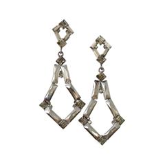 Серьги Herald Percy Геометрические серьги-шандельеры из кристаллов