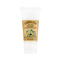 Крем для рук Organic Tai Экстрапитательный крем для рук Франжипани, ши и жожоба (Объем 60 мл) organic tai крем для тела франжипани и жожоба 260 мл