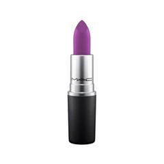 Помада MAC Cosmetics Matte Lipstick Heroine (Цвет Heroine variant_hex_name 9E4A9D) помада mac cosmetics matte lipstick tropic tonic цвет tropic tonic variant hex name f55047