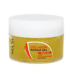 После депиляции Aravia Professional Гель с коллагеном восстанавливающий Collagen Repair Gel (Объем 200 мл) гель aravia professional cuticle remover 100 мл