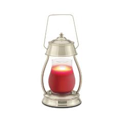 Диффузор Candle Warmers Hurricane lamp Brushed Nickel стойка для акустики waterfall подставка под акустику shelf stands hurricane black
