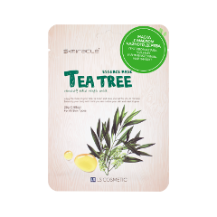 Тканевая маска S-Miracle Tea Tree Essence Mask (Объем 25 г) дрель шуруповерт hitachi ds18dvf3
