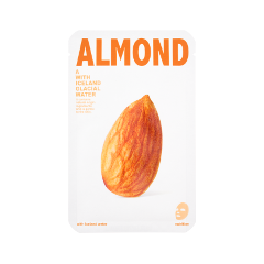 Тканевая маска The Iceland Almond Mask (Объем 20 г) тканевая маска bioaqua animal tiger supple mask объем 30 г