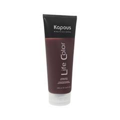 Временное окрашивание Kapous Бальзам оттеночный Life Color Медный (Объем 200 мл) бальзам lv бальзам для волос объем 200 мл