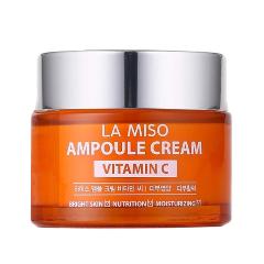 Крем La Miso Vitamin C Ampoule Cream (Объем 50 мл) сыворотка la miso hyaluronic acid ampoule serum объем 35 мл