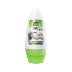 Фитодезодорант-антиперспирант шариковый Защита от запаха и влаги (Объем 50 мл)