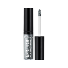 Тени для век Divage Metal Glam Eye Tint 01 (Цвет 01 variant_hex_name 9597A8) divage тени для век жидкие metal glam eye tint 5 мл 4 оттенка 03 5 мл
