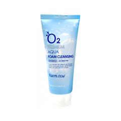 Пенка FarmStay O2 Premium Aqua Foam Cleansing (Объем 100 мл) missha super aqua refreshing cleansing foam объем 200 мл
