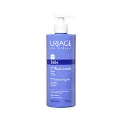 Для детей Uriage 1st Cleansing Oil (Объем 500 мл) пенка uriage gyn phy intimate cleansing mist without rinsing