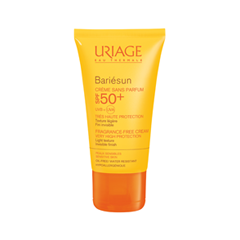 Защита от солнца Uriage Bariesun SPF 50+ Cream Fragrance-Free (Объем 50 мл) крем uriage isoliss cream