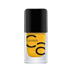 Лак для ногтей Catrice ICONails Gel Lacquer 47 (Цвет 47 Don't Judge A Nail By Its Color variant_hex_name FFB500) лаки для ногтей с эффектами catrice chrome infusion nail lacquer 05 цвет 05 enchanted camouflage variant hex name ab7e51