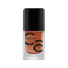 Лак для ногтей Catrice ICONails Gel Lacquer 49 (Цвет 49 Let's Get Ready For Bronze variant_hex_name C58B68) лаки для ногтей с эффектами catrice chrome infusion nail lacquer 05 цвет 05 enchanted camouflage variant hex name ab7e51