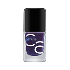Лак для ногтей Catrice ICONails Gel Lacquer 55 (Цвет 55 All Roads Lead to the Ocean variant_hex_name 071D49) лаки для ногтей isadora лак для ногтей гелевый gel nail lacquer 247 6 мл