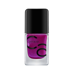 Лак для ногтей Catrice ICONails Gel Lacquer 56 (Цвет 56 Purple is the Best Policy variant_hex_name 833177) лаки для ногтей с эффектами catrice chrome infusion nail lacquer 05 цвет 05 enchanted camouflage variant hex name ab7e51
