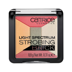 Для лица Catrice Light Spectrum Strobing Brick 020 (Цвет 020 Spirit of Africa variant_hex_name EFB884) база под макияж isadora strobing fluid highlighter 81
