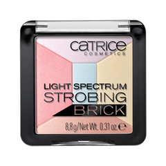 Для лица Catrice Light Spectrum Strobing Brick 030 (Цвет 030 Candy Cotton variant_hex_name C9DDE4) база под макияж isadora strobing fluid highlighter 81