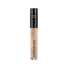 Консилер Catrice Liquid Camouflage - High Coverage Concealer 015 (Цвет 015 Honey variant_hex_name E7B78A) хайлайтер catrice highlighting powder 015 цвет 015 merry cherry blossom variant hex name e7a5ab