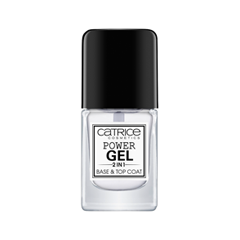 Power Gel 2 in 1 Base & Top Coat (Цвет Transparent variant_hex_name CACCD2)