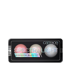 Для глаз Catrice SpectraLight Eyeshadow Glow Kit 010 (Цвет 010 Manic Pixie Dream Girl variant_hex_name DEA39C Вес 180.00) тушь для ресниц catrice lash dresser comb mascara 010 цвет 010 black variant hex name 000000