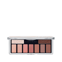 Для глаз Catrice The Fresh Nude Collection Eyeshadow Palette 010 (Цвет 010 Newly Nude  variant_hex_name 674230 Вес 180.00) для глаз catrice the precious copper collection eyeshadow palette 010 цвет 010 metallux variant hex name b6876e