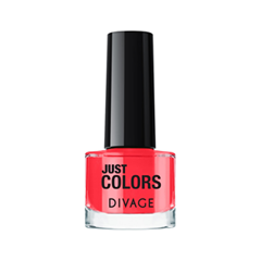 Лак для ногтей Divage Just Colors 31 (Цвет 31  variant_hex_name E62331) лаки для ногтей divage набор 311 лаки для ногтей everlasting g 14 топ покрытие
