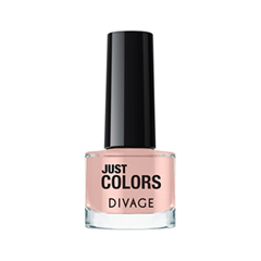 Лак для ногтей Divage Just Colors 32 (Цвет 32 variant_hex_name E0B8B0) лаки для ногтей naillook лак для ногтей cashmere 32307 poncho 8 5 мл