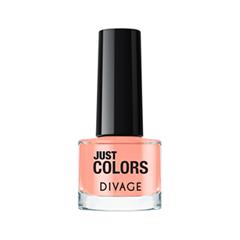 Лак для ногтей Divage Just Colors 34 (Цвет 34 variant_hex_name FDAF9B) лаки для ногтей divage набор 311 лаки для ногтей everlasting g 14 топ покрытие