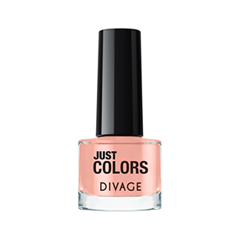 Лак для ногтей Divage Just Colors 35 (Цвет 35 variant_hex_name F8B5A4) лаки для ногтей naillook лак для ногтей cashmere 32307 poncho 8 5 мл