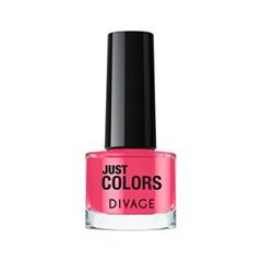 Лак для ногтей Divage Just Colors 36 (Цвет 36 variant_hex_name E73E65) лаки для ногтей divage набор 311 лаки для ногтей everlasting g 14 топ покрытие