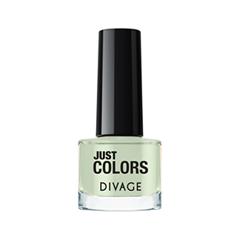 Лак для ногтей Divage Just Colors 38 (Цвет 38 variant_hex_name D9E7CE) лаки для ногтей divage набор 311 лаки для ногтей everlasting g 14 топ покрытие