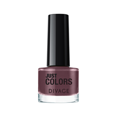 Лак для ногтей Divage Just Colors 40 (Цвет 40 variant_hex_name 724653) лаки для ногтей divage набор 311 лаки для ногтей everlasting g 14 топ покрытие