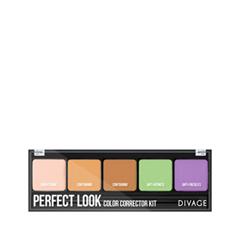 Для лица Divage Perfect Look Color Corrector Kit тональная основа divage perfect look 01 цвет 01 variant hex name eabe9b