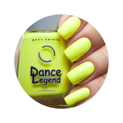 Лак для ногтей Dance Legend Neonic 822 (Цвет Banana Party variant_hex_name f7f21a Вес 20.00)