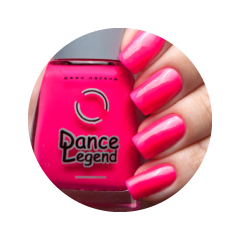 Лак для ногтей Dance Legend Neonic 826 (Цвет Hanging Out variant_hex_name e75480 Вес 20.00)