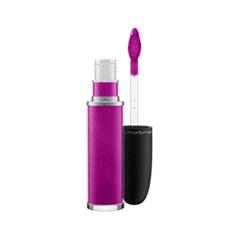 Жидкая помада MAC Cosmetics Retro Matte Liquid Lipcolour Metallics Atomized (Цвет Atomized variant_hex_name 8C2076)
