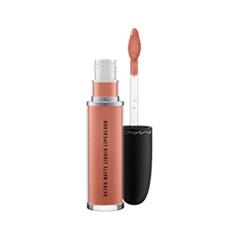 Жидкая помада MAC Cosmetics Retro Matte Liquid Lipcolour Metallics Quartzette (Цвет  variant_hex_name D28573)