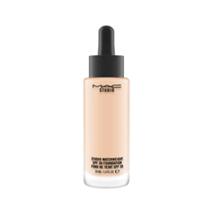 Тональная основа MAC Cosmetics Studio Waterweight SPF30 Foundation NC15 (Цвет NC15 variant_hex_name F3CAAD) тональная основа mac cosmetics studio waterweight spf30 foundation nc25 цвет nc25 variant hex name f4c4a2