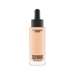 Тональная основа MAC Cosmetics Studio Waterweight SPF30 Foundation NC25 (Цвет NC25 variant_hex_name F4C4A2) mac lightful c tinted cream with radiance booster увлажняющий тональный крем spf30 medium dark