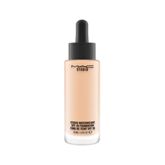 Тональная основа MAC Cosmetics Studio Waterweight SPF30 Foundation NW15 (Цвет NW15 variant_hex_name E2B79A) тональная основа mac cosmetics studio waterweight spf30 foundation nc25 цвет nc25 variant hex name f4c4a2