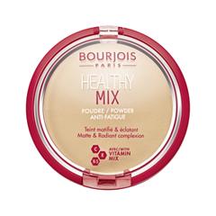 Компактная пудра Bourjois Healthy Mix Powder 02 (Цвет 02 Light Beige variant_hex_name F5C595 Вес 50.00) тональная основа bourjois city radiance 03 цвет 03 light beige variant hex name e8b38e