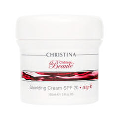 Крем Christina Chateau de Beaute Shielding Cream SPF20 (Объем 150 мл) крем christina muse shielding day cream spf 30 объем 150 мл