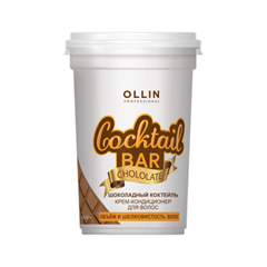 Кондиционер Ollin Professional Крем-кондиционер Cocktail Bar Chocolate Cocktail (Объем 500 мл) ollin professional кондиционер для домашнего ухода keratine system home 250мл