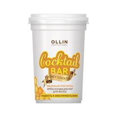 Кондиционер Ollin Professional Крем-кондиционер Cocktail Bar Honey Cocktail (Объем 500 мл) ollin professional кондиционер для домашнего ухода keratine system home 250мл