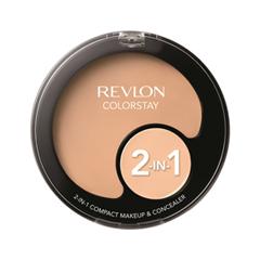 Тональная основа Revlon Colorstay™ 2-in-1 Compact Makeup & Concealer 110 (Цвет  Ivory variant_hex_name F7CDB6)