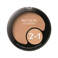Тональная основа Revlon Colorstay™ 2-in-1 Compact Makeup & Concealer 220 (Цвет 220 Natural Beige variant_hex_name E3AA8D) тональная основа revlon colorstay makeup for normal dry skin 150 цвет 150 buff variant hex name ecbfa0