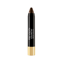 Карандаш для бровей Revlon ColorStay™ Brow Crayon 315 (Цвет 315 Dark Brown variant_hex_name 382826) карандаш для бровей revlon colorstay™ brow fantasy™ pencil