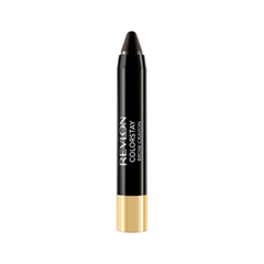 Карандаш для бровей Revlon ColorStay™ Brow Crayon 320 (Цвет 320 Soft Black variant_hex_name 2A2A2A) карандаш для бровей revlon colorstay™ brow fantasy™ pencil
